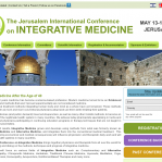 Jerusalem International Integrative Medicine Conference, Israel. May 13-18, 2012