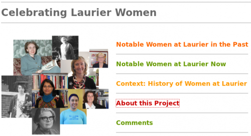 Celebrating Laurier Women